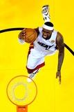 Miami, FL - June 21:  Miami Heat and Oklahoma City Thunder Game Five, LeBron James Photographic Print