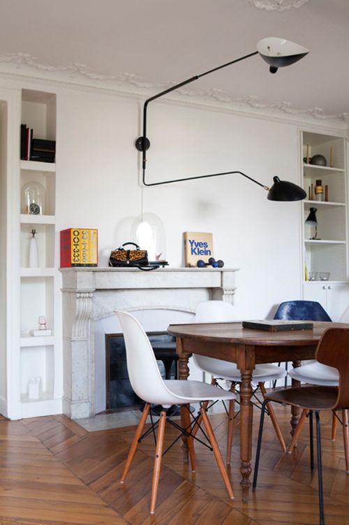 Appartement parisien avec une touche de scandinave