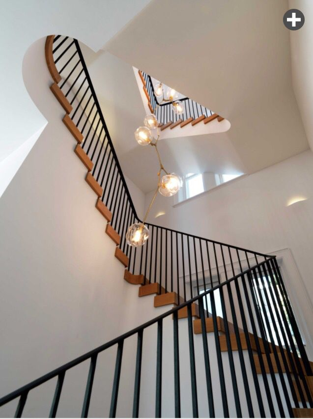 Staircase..! House T. By Luigi Rosselli Architects