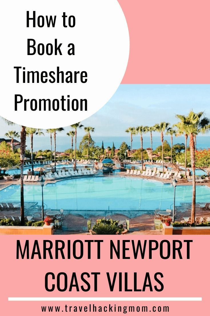 Marriott Newport Coast Villas Timeshare Presentation Review