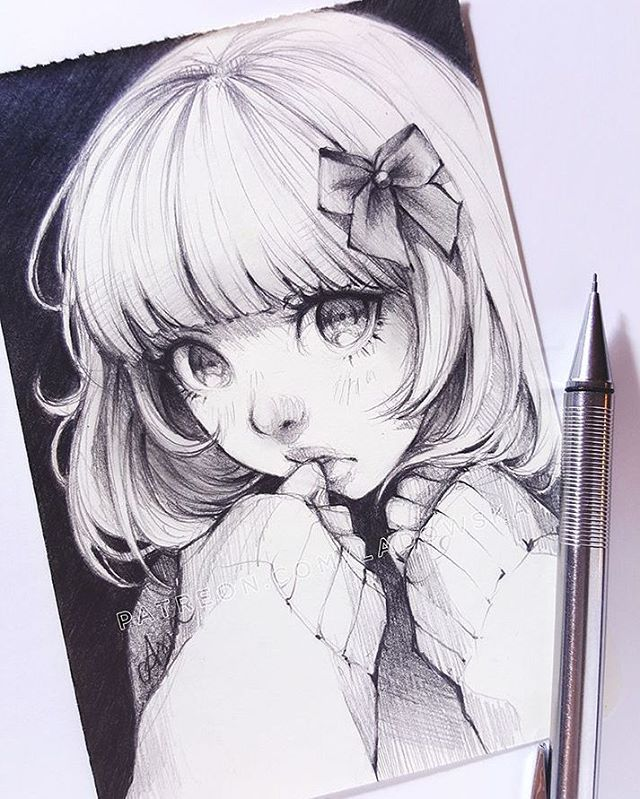 "47.2k Likes, 164 Comments - Asia Ladowska (@ladowska) on Instagram: ""Whoops... _ patreon.com/Ladowska _ #sketcheveryday #drawing #sketchbook #pencil #traditionalart…"""