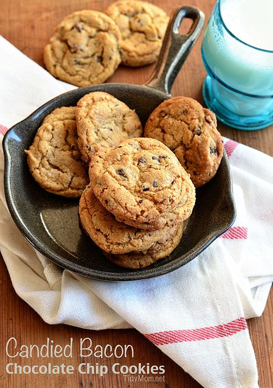 Candied Bacon & Bourbon Chocolate Chip Cookies: Chocolate Chips ...