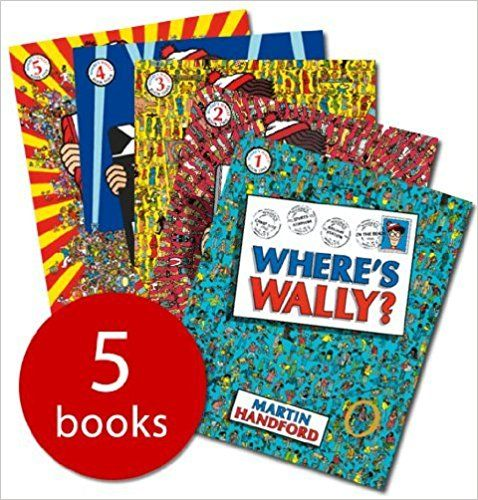 Where's Wally Books: Where's Wally / Where's Wally Now / Wheres Wally the Fantastic Journey / Wheres Wally the Wonder Book / Wheres Wally in Hollywood: Amazon.co.uk: 9789999380973: Books