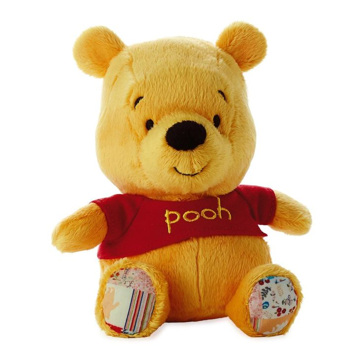 26 best easter gifts images on pinterest easter gift baby gifts ultra soft with patchwork accents this sweet disney pal will brighten anyones day 4 x x 3 hallmark easter disney winnie the pooh plush negle Image collections