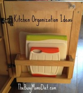 Theres never a good place to put a cutting board in your cabinets…till now. Th