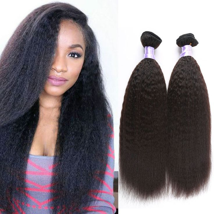 Peruvian Kinky Straight Hair Weave 100g/Bundles Coarse Light Yaki Virgin Hair Italian Yaki Human Hair Bundles-in Human Hair Extensions from Health & Beauty on Aliexpress.com | Alibaba Group