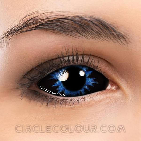 Soft Eye Circle Lens Night King 22mm Scleral Colored Contact Lenses M01162 Coloredeyecontacts Circlecolo Contact Lenses Colored Colored Contacts Circle Lenses
