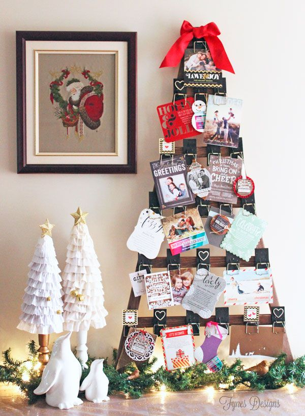 1000+ ideas about Christmas Card Holders on Pinterest | Merry Mail ...