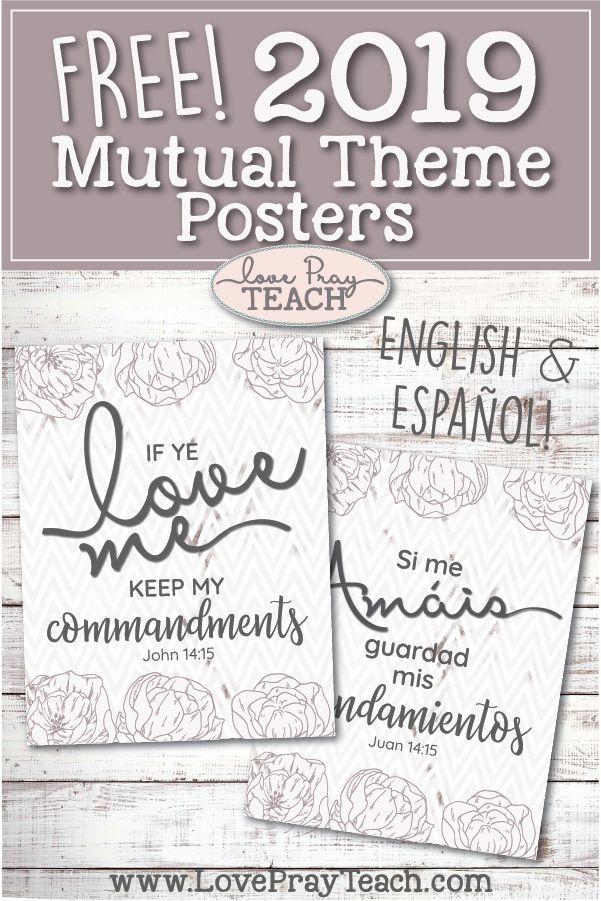 2019 LDS Mutual Theme