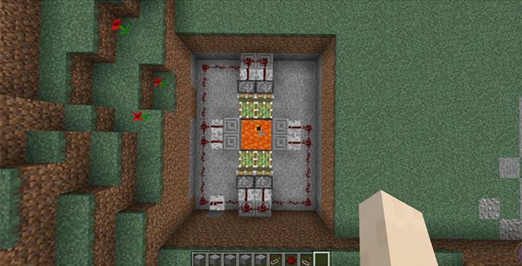 minecraft how to make lava