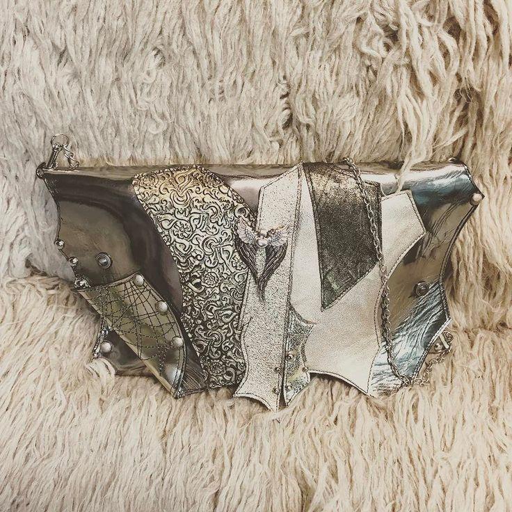 Leather ladies bag by EvilEve :) #leather #fashionistas #leatherbag #clutch #evilevedesign #evileve #designer #eveningbag