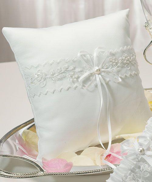 Discounted Wedding Ring Pillows