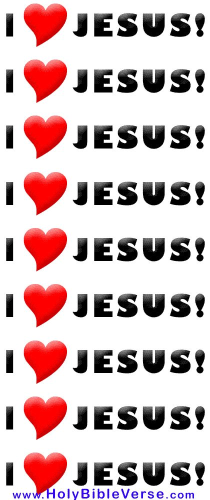 I WILL BE SAYING THIS IN ETERNITY AND IT STILL WILL NEVER BE ENOUGH TO EXPRESS HOW MUCH I LOVE JESUS !!!!