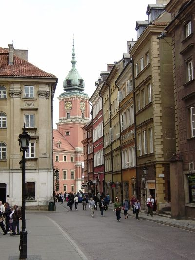 Warszawa przełomu XVIII i XIX wieku