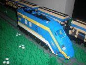 California High Speed Rail (January 2010): A LEGO® creation by Kevin Gramlich : MOCpages.com