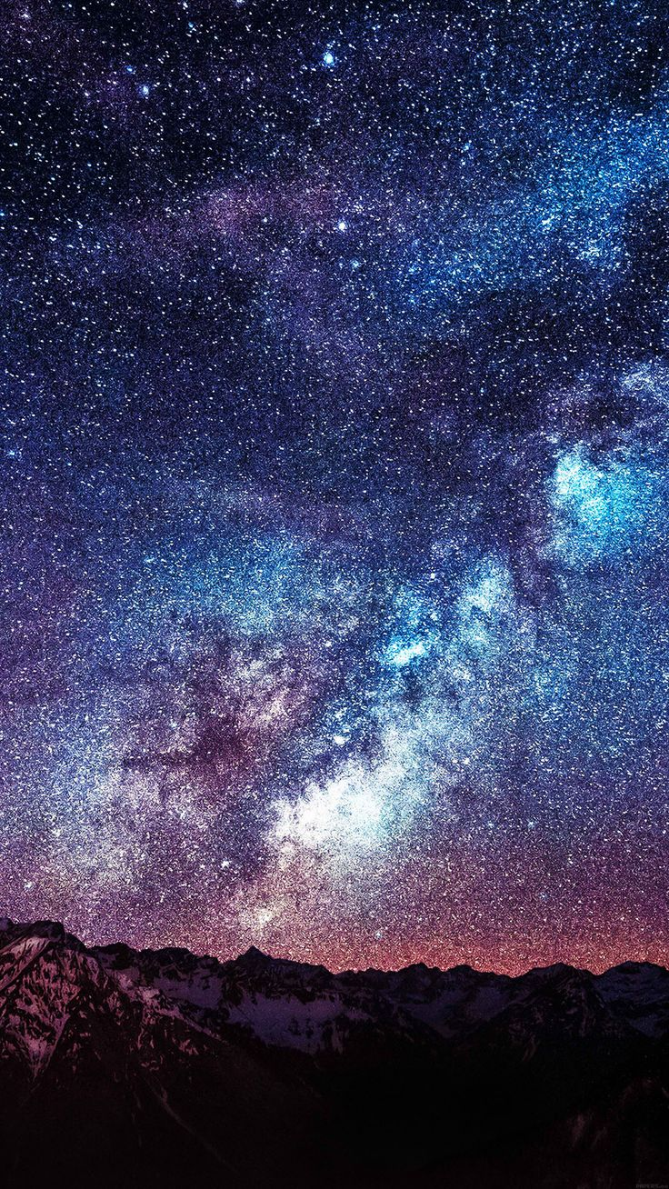 Night sky iphone wallpaper tumblr - Awesome Fond Decran Iphone Hd 520