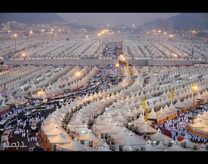 Al Mina (the largest tent city), Saudi Arabia
