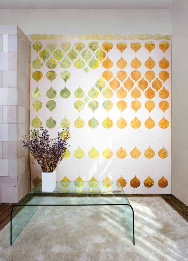 Wallpaper that is customized to your interiors