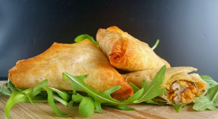 Samoussas roquette-carottes-noix – «La box à planter»