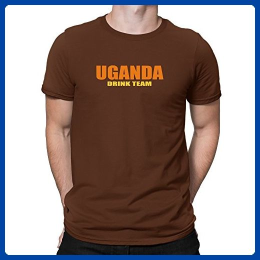 Teeburon Uganda Drink Team T-Shirt - Food and drink shirts (*Amazon Partner-Link)