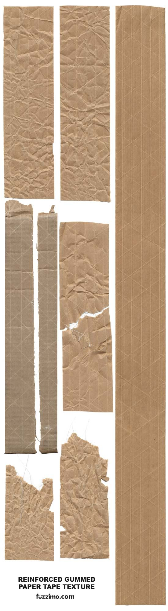 Free Hi-Res Reinforced Paper Tape Textures