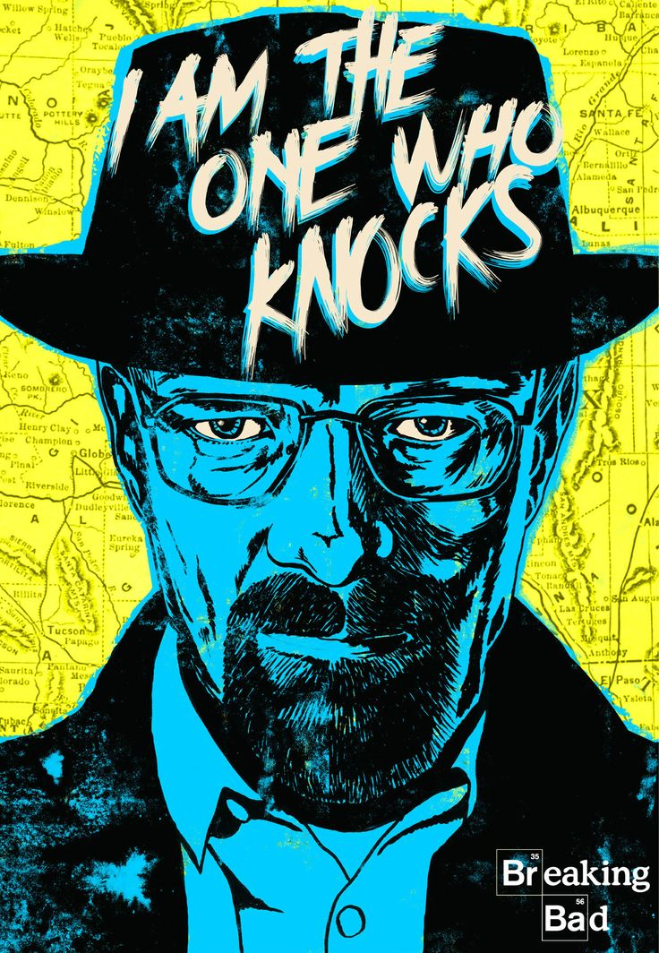 Breaking Bad Fan Art Poster Breaking bad pop art