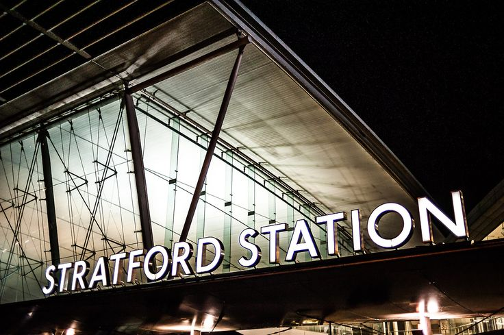 Stratford Station, London - went out here with a friend who had to find a coat only sold in a store way out here. A kind man helped us when we couldn't figure out how to get back into the station.
