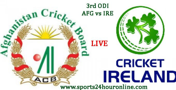 AFG vs IRE 3rd ODI, Today Live Cricket Score Mar 19, 2017, Online Streaming, Match Preview, Match Highlights, Afghanistan vs Ireland Team Squad, Team Player