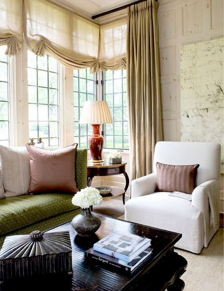 8 soft relaxed relaxed roman shade btwn panels via dragonfly francaise designer cheryl tauge find this pin and more on window treatments