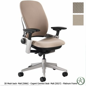 Shop Steelcase Leap Chairs With 3d Knit Mesh Back Mesh