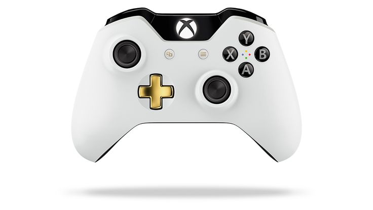 Lunar White Wireless Controller Front