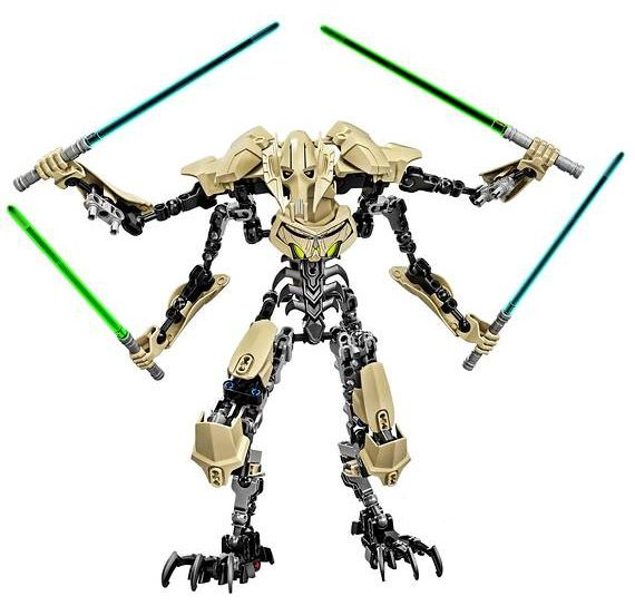 mommy wants! [✓] LEGO Star Wars General Grievous Buildable Figure Summer 2015 Sets ($34.99, 186-pc)