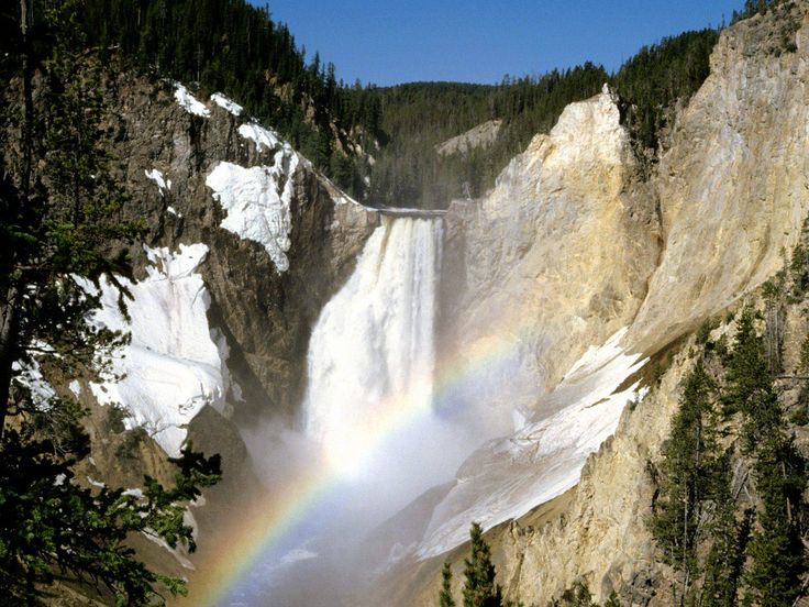 Yellowstone. Pretty sure this looks like The Grand Canyon of Yellowstone... LOVE this place... SO gorgeous!!! <3