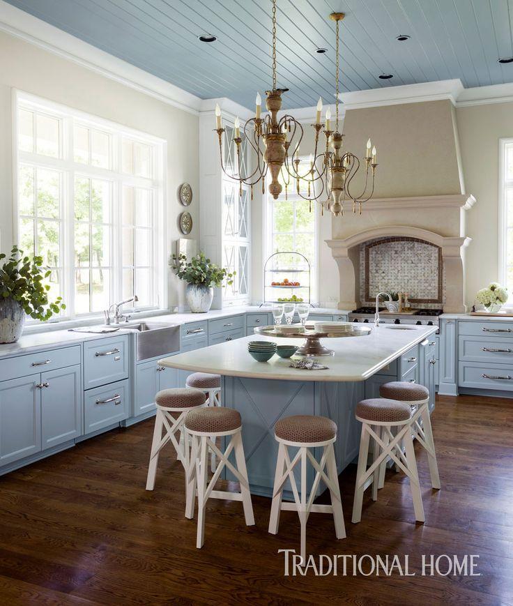 <p>Whisper-soft color and thoughtful design elements cloak a hardworking kitchen in graceful elegance</p>
