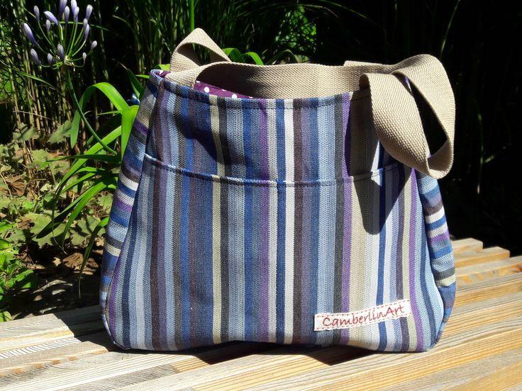 Schultertaschen - Handtasche, Umhängetasche - ein Designerstück von CamberlinArt bei DaWanda