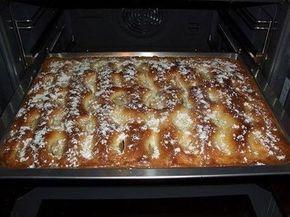 Пирог с яблоками, как пирожное!