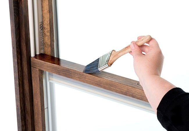Step By Step Instructions For Finishing Wood Windows And Doors Sanding Wood Wood Windows Staining Wood
