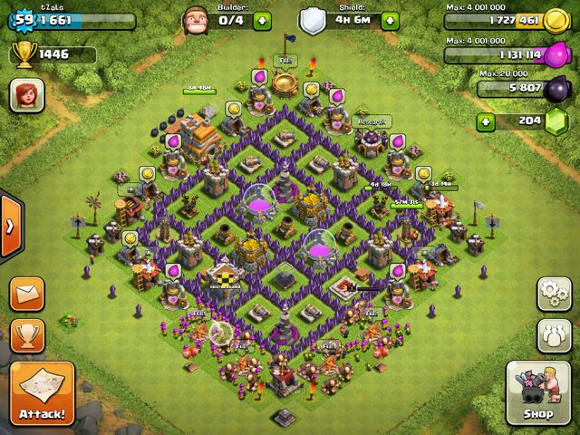 70 best clash of clan images on pinterest base clash royale and clash of clans town hall level 8 setup bottom of the map publicscrutiny Image collections