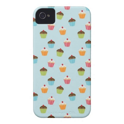 Sweet cupcake iphone case at zazzle