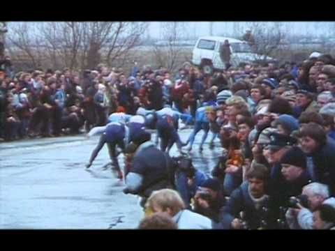Elfstedentocht 13e 1985 winnaar Evert van Benthem - YouTube