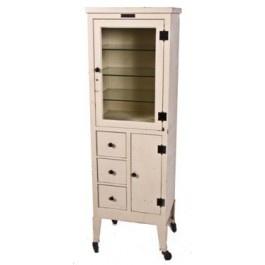 49 best old enamel cabinets images on pinterest for White enamel kitchen cabinets
