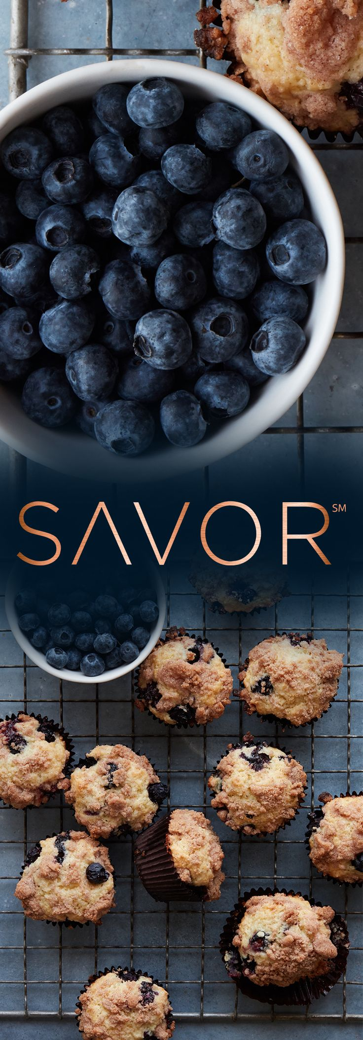 """Gaby Dalkin of @whatsgabycooking: """"Blueberry Streusel Muffins couldn't be more perfect for this time of year! Grab the recipe on the blog thanks to @CapitalOne and their new Savor credit card."""" #SavorMoments #ad"""