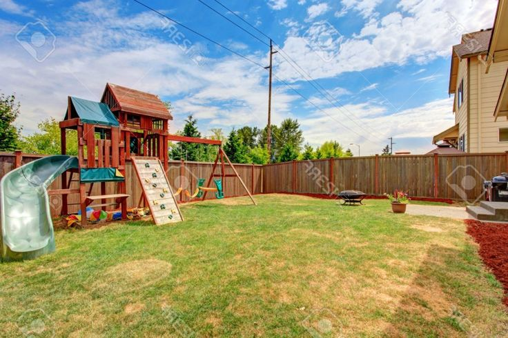 Backyard Playground Border Ideas Intended For Backyard Playground Kids