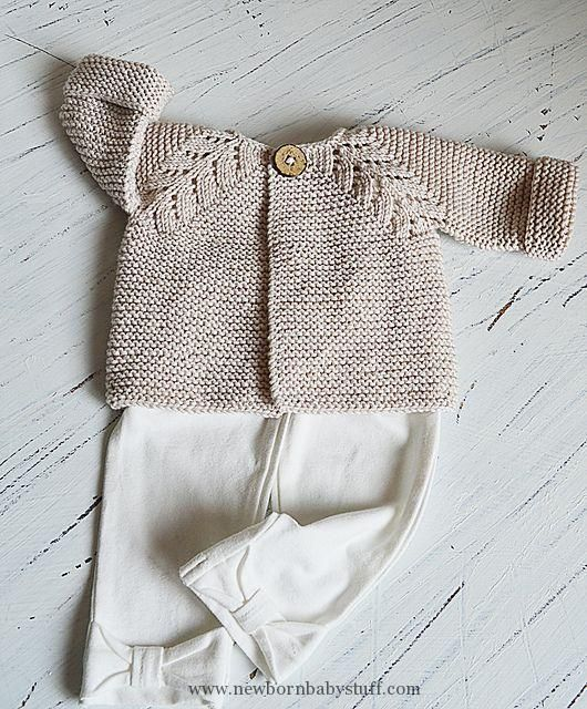 Baby Knitting Patterns Ravelry: Norwegian Fir, top down cardigan pattern by OGE Kni...