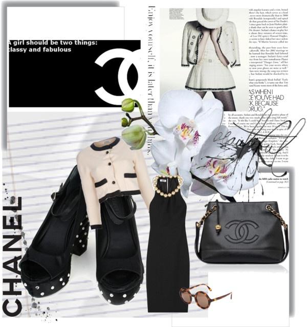 """'I don't do fashion, I am fashion."" -Coco Chanel"" by januaryceleste ❤ liked on Polyvore"