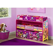 Nickelodeon Paw Patrol Skye and Everest Deluxe MultiBin Toy Organizer