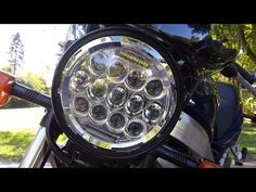 Installing A 7-Inch LED Motorcycle Headlight Quickly And Easily
