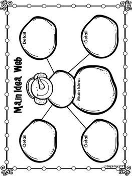 FREEBIE Sample Reading Graphic Organizers for Reading