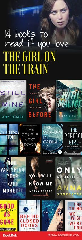 14 Books to Read If You Love 'The Girl on the Train' - 14 books to read if you love The Girl on the Train by Paula Hawkins.