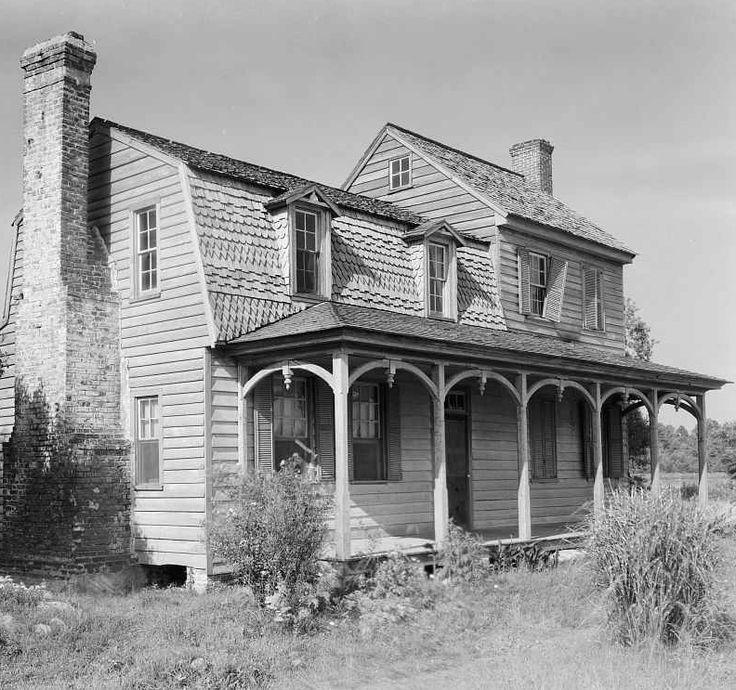 Abandoned North Carolina Homes: Abandoned House, Nixtonton, Pasquotank County, North